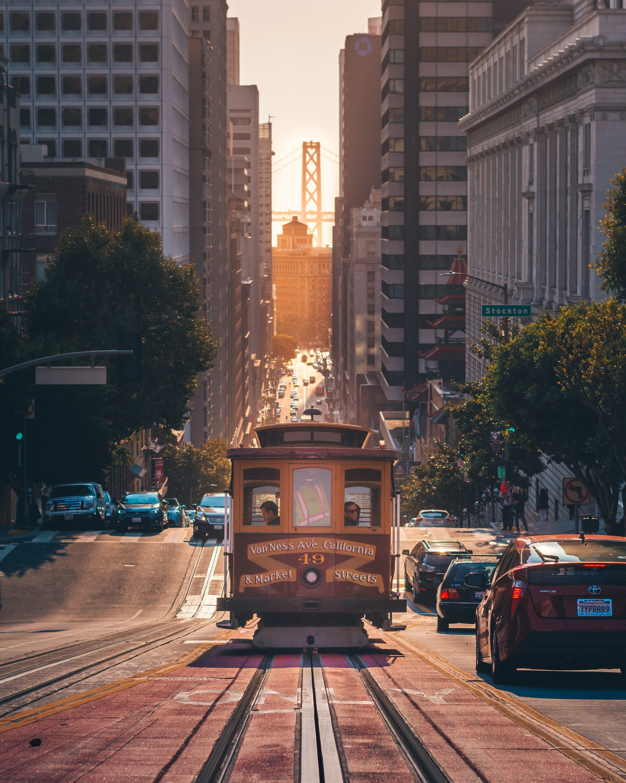 straat in moderne stad